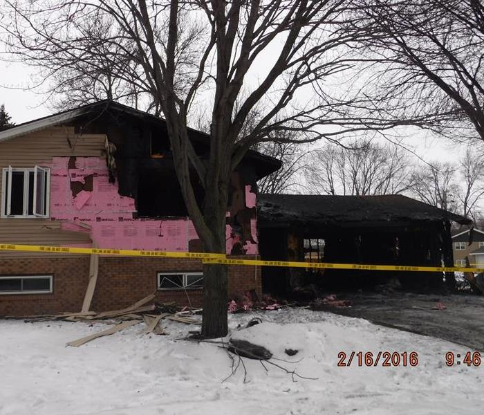 Fire Damage in Shakopee, MN Before